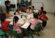Art Class @kindergarten