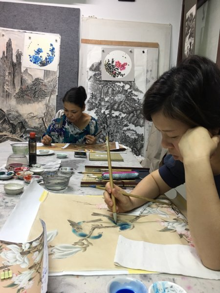 Student work- Chinese Painting Class(Adult) - Art Classes ...